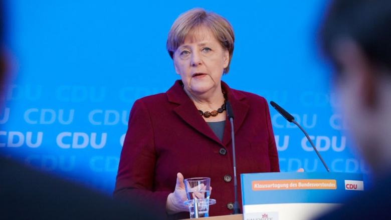 Angela Merkel in Mainz