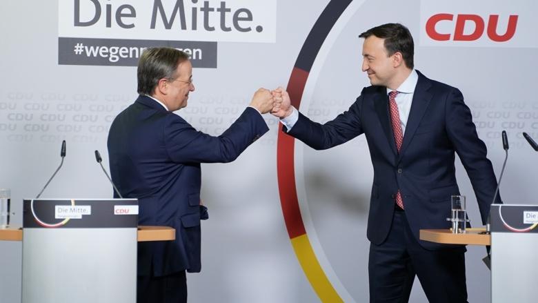 Geschafft: Der neue Vorsitzende Armin Laschet ist nun auch offiziell im Amt bestätigt worden
