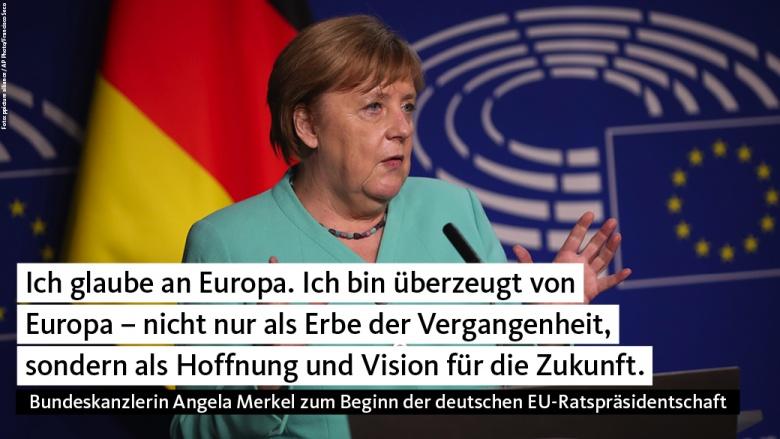 Merkel vor dem EU-Parlament