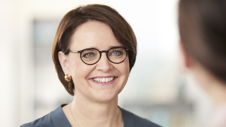 Auf dem Bild sieht man Annette Widmann-Mauz ,Staatsministerin im Bundeskanzleramt und Vorsitzende der Frauen Union der CDU Deutschlands