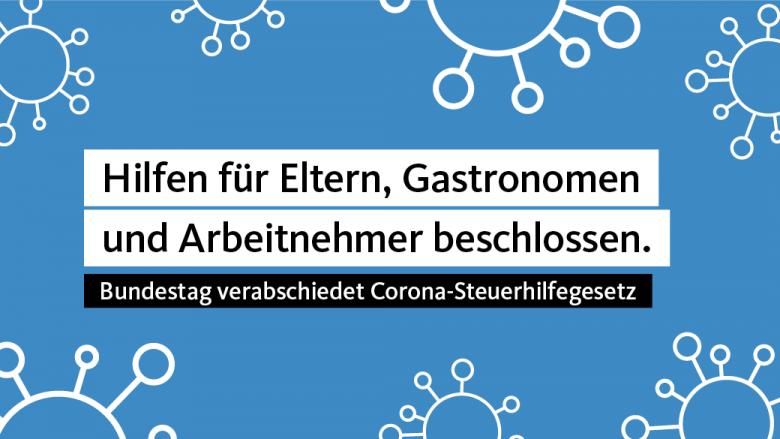 Bundestag beschließt weitereHilfenfürRestaurant-Betreiber, Eltern und Arbeitnehmer