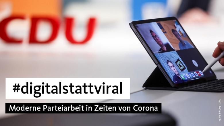 Digitale Parteiarbeit in Zeiten von Corona