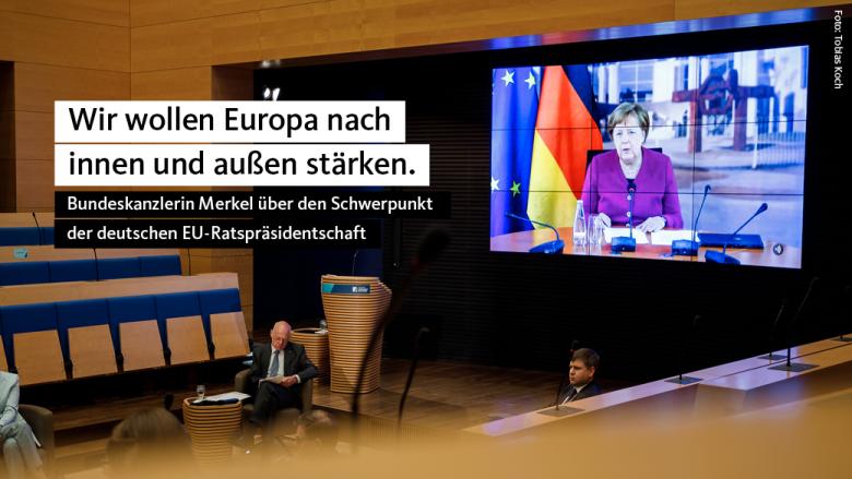 Angela Merkel: Europa nach innen und außen stärken