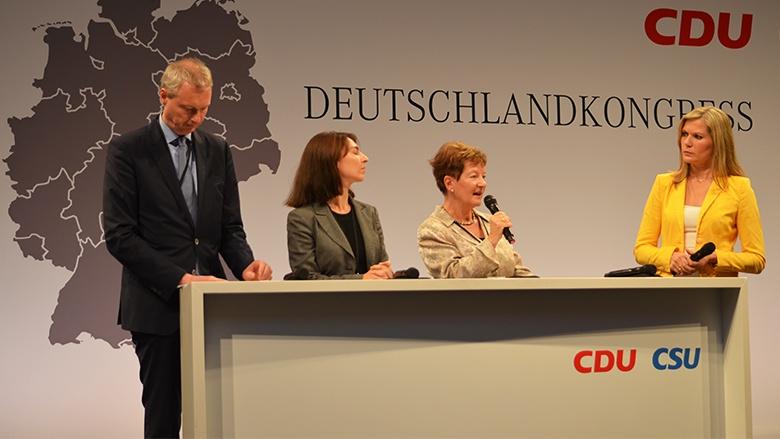 Dkongress, Deutschlandkongress, CDU, CSU, Schäuble, Europa, EU, Maria Grunwald