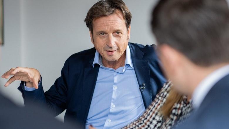 Gespräch zum CDU-Grundsatzprogramm mit CDU Generalsekretär Paul Ziemiak und Gästen wie Dipl-Psychologe Stephan Grünewald