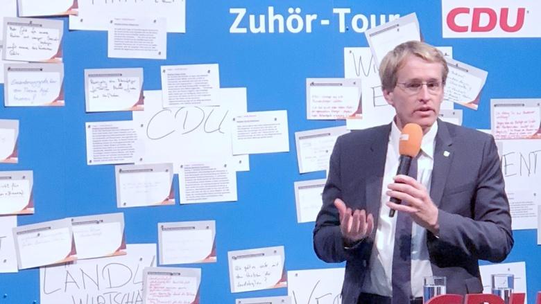 Zuhor Tour In Husum Mit Mp Gunther Statt Akk Christlich