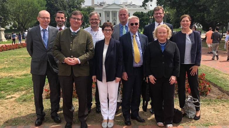 CDU-Generalsekretärin Annegret Kramp-Karrenbauer zu Gast in den USA