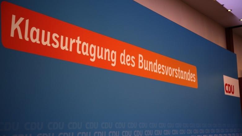 Klausurtagung des CDU-Bundesvorstands in Mainz