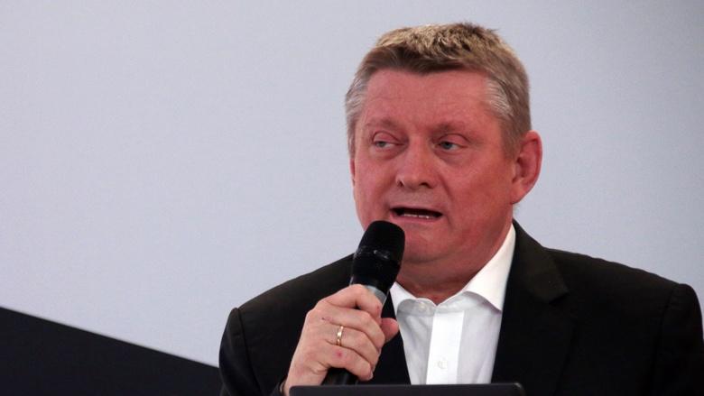 Das Bild zeigt: Hermann Gröhe, stellvertretender Vorsitzender der CDU/CSU-Fraktion im Deutschen Bundestag, auf einer Veranstaltung der CDU.