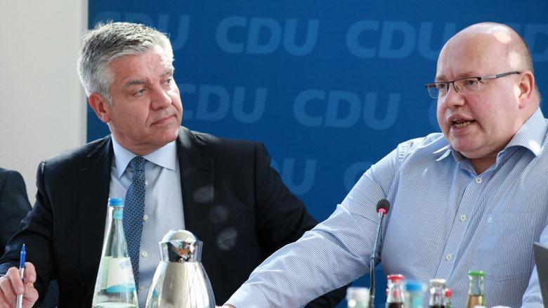 Frank Steffel und Peter Altmaier