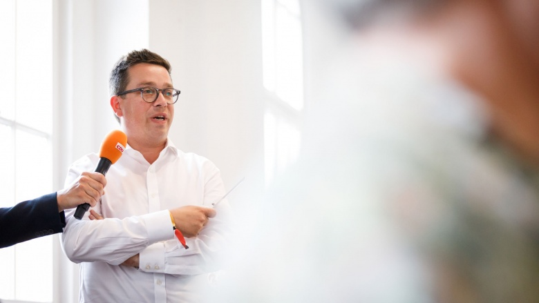 Stefan Schneider, CDU-Fraktionsvorsitzender in Eschwege, fragt warum Bundesbehörden nicht auch im ländlichen Raum angesiedelt werden können.