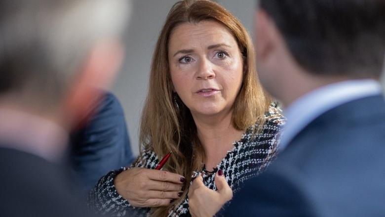Gespräch zum CDU-Grundsatzprogramm mit CDU Generalsekretär Paul Ziemiak und Gästen wie Publizistin Birgit Kelle