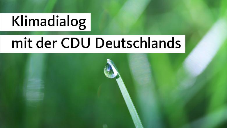 CDU-Klimadialog