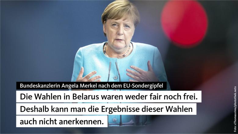 Angela Merkel nach dem EU-Sondergipfel