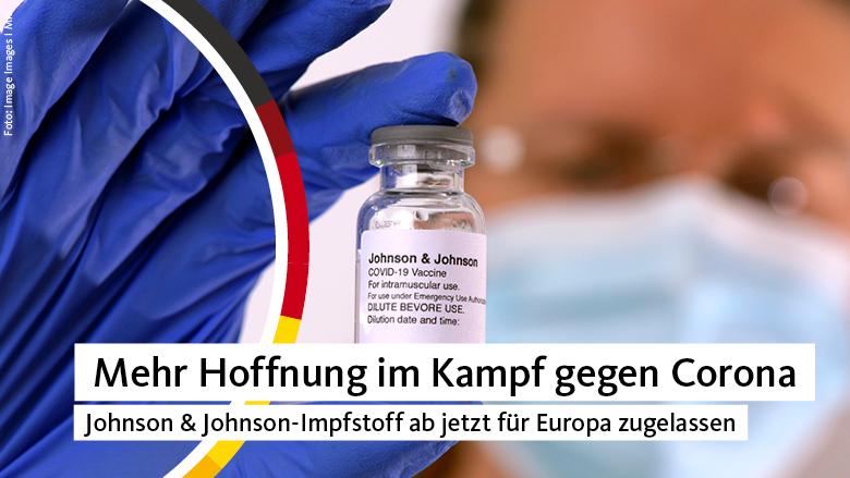 Neue Hoffnung für ein schnelleres Impfen verspricht der neue Impfstoff von Johnson & Johnson