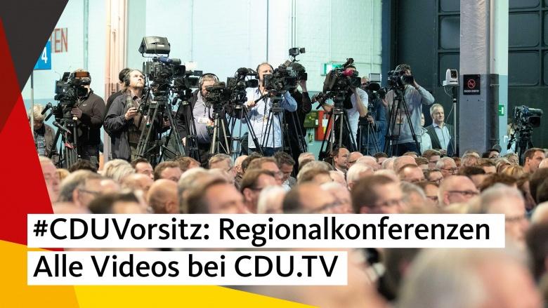 Regionalkonferenzen 2018: Alle Videos bei CDU.TV