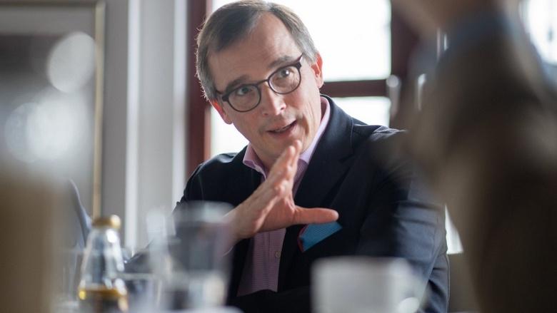 Gespräch zum CDU-Grundsatzprogramm mit CDU Generalsekretär Paul Ziemiak und Gästen wie Prof. Dr. Andreas Rödder