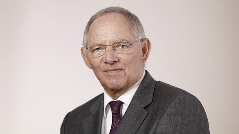 Auf dem Bild sieht man Wolfgang Schäuble