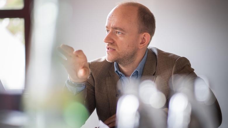 Gespräch zum CDU-Grundsatzprogramm mit CDU Generalsekretär Paul Ziemiak und Gästen wie Journalist Marc Felix Serrao