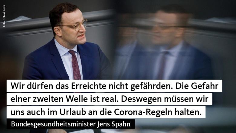 Jens Spahn: Dürfen das Erreichte nicht gefährden