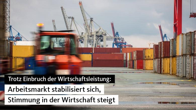 Wirtschaft in Deutschland: Stimmung und Daten geben Hoffnung