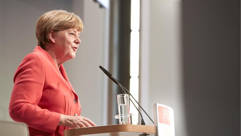 Die CDU-Vorsitzende Angela Merkel