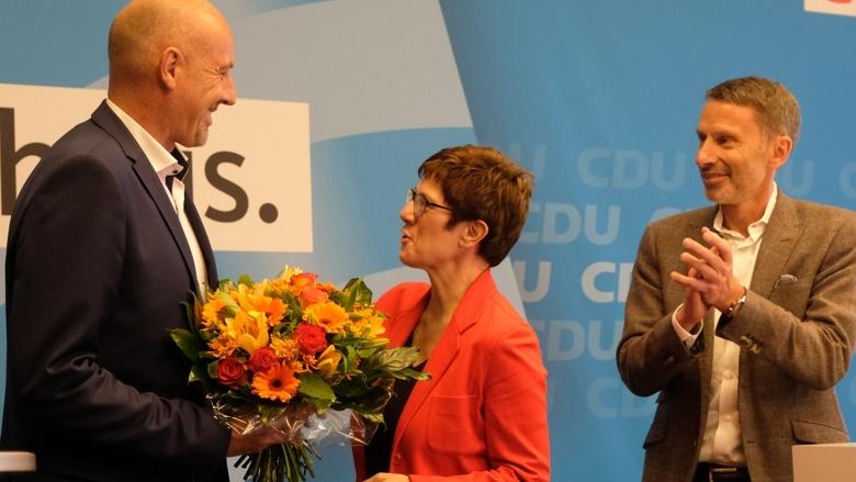 CDU-Generalsekretärin Annegret Kramp-Karrenbauer Landesparteitag Bremen