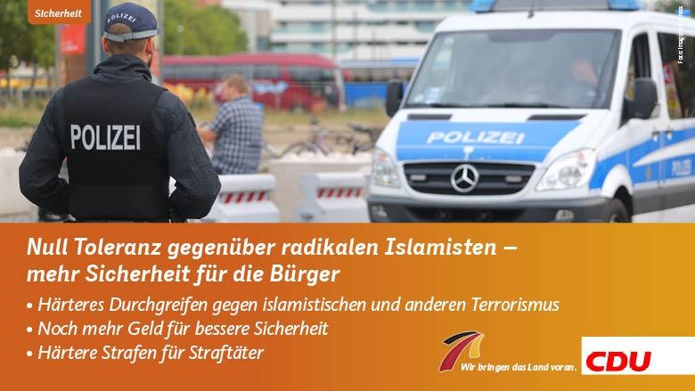 Sicherheit, Islamismus, Terrorismus