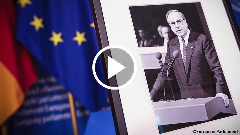 Trauerrede Angela Merkel zu Ehren von Helmut Kohl in Straßburg