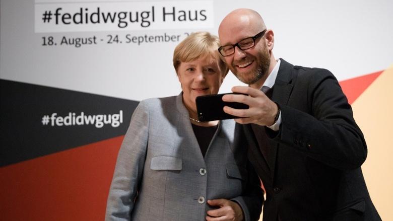 CDU-Chefin Angela Merkel und CDU-Generalsekretär Peter Tauber