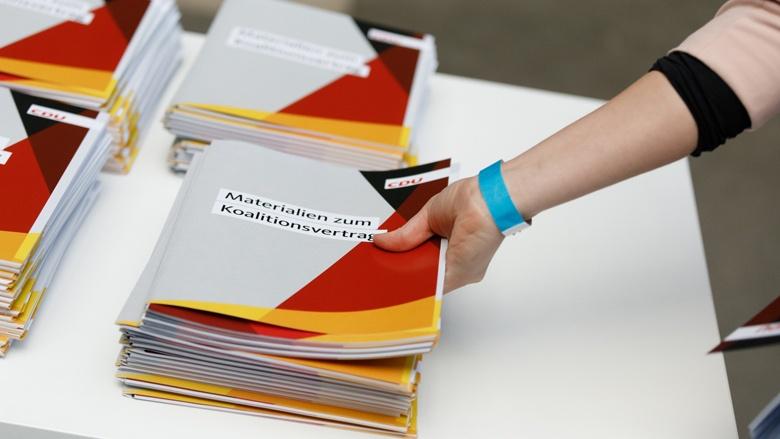 30. Parteitag der CDU Deutschlands in Berlin