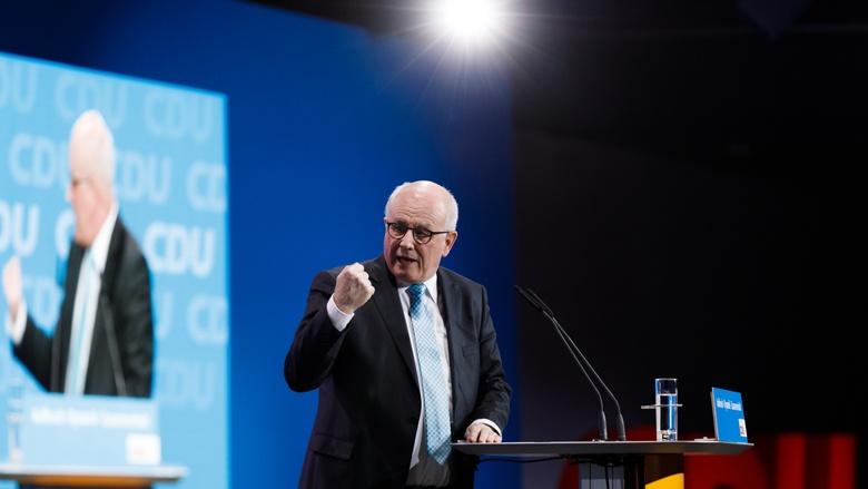 Impression vom 30. Parteitag der CDU / Volker Kauder
