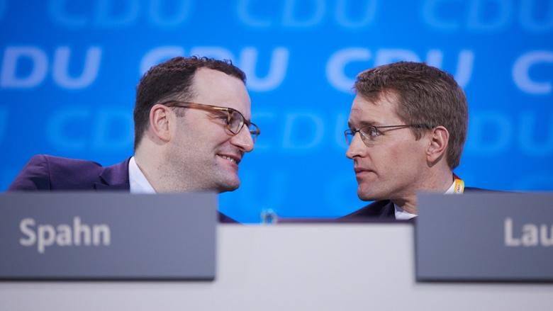 Impressionen vom 30. Parteitag der CDU / Jens Spahn und Daniel Günther