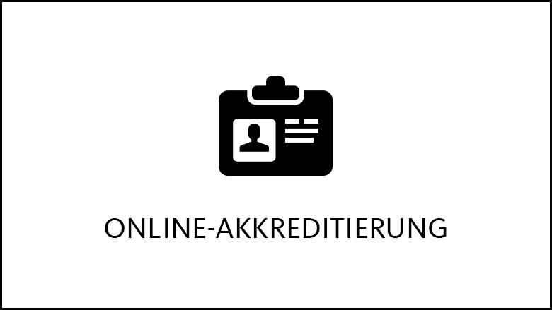 Online-Akkreditierung