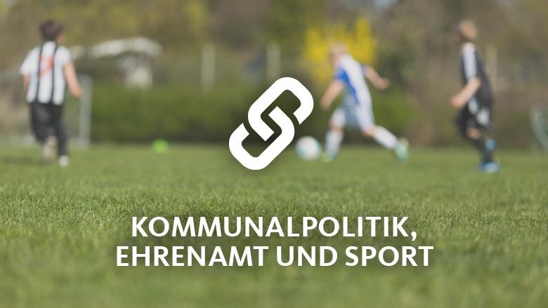Kommunalpolitik, Ehrenamt und Sport