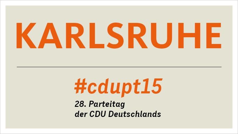 Karlsruhe #cdupt15