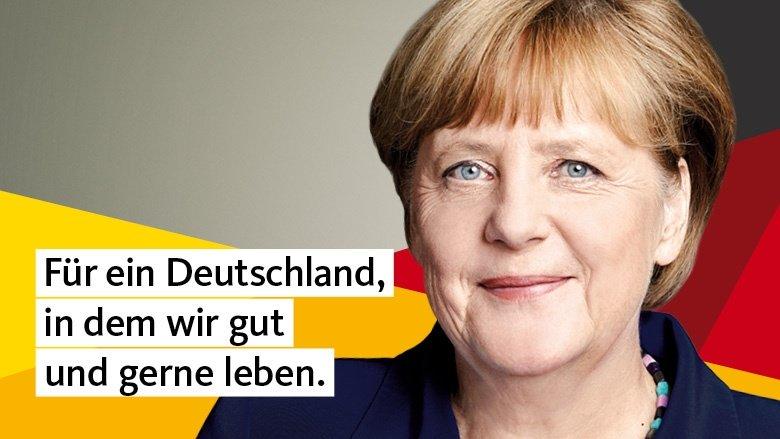 Angela Merkel: Für ein Deutschland, in dem wir gut und gerne leben