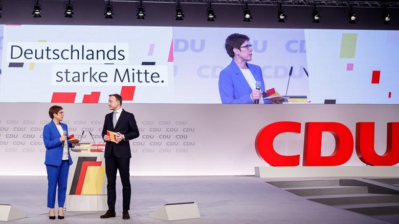 Herzlich Willkommen In Leipzig Cdu Parteitag Wird Eroffnet Christlich Demokratische Union Deutschlands