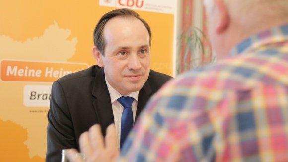 Ingo Senftleben, Landesvorsitzender der CDU Brandenburg