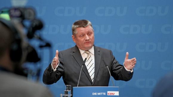 Pressekonferenz von CDU-Generalsekretär Hermann Gröhe