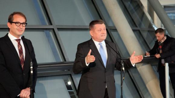 CDU-Generalsekretär Hermann Gröhe und CSU-Generalsekretär Alexander Dobrindt