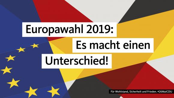 Europawahl 2019: Es macht einen Unterschied!