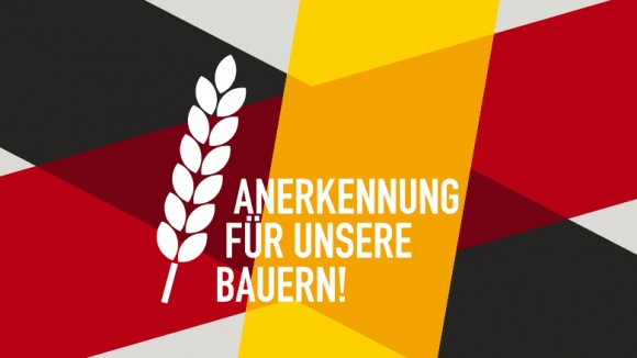 Anerkennung für unsere Bauern