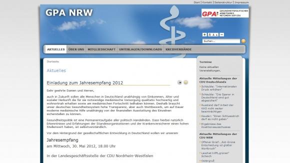 Gesundheitspolitischer Arbeitskreis Netzwerk der CDU-NRW