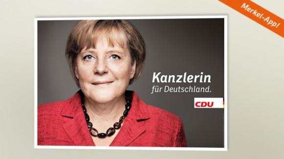 Kanzlerin für Deutschland.