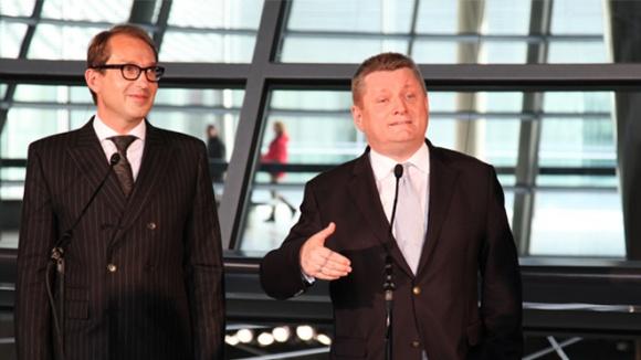 Foto: Die Generalsekretär von CDU und CSU: Hermann Gröhe und Alexander Dobrindt