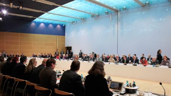 Zweite Runde der Koaltionsgespräche von CDU, CSU und SPD