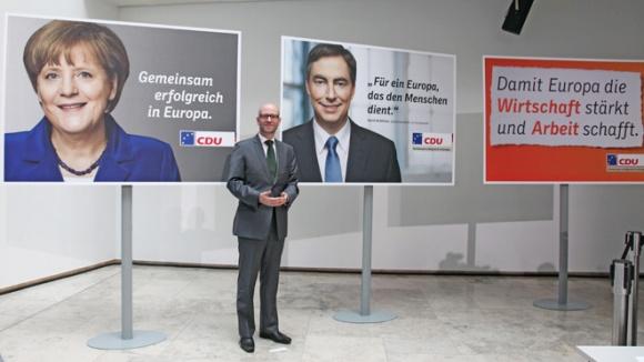 CDU stellt neue Plakatmotive vor