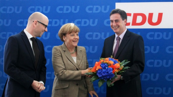 """Merkel: """"Die Politik muss bei den Menschen ankommen."""""""