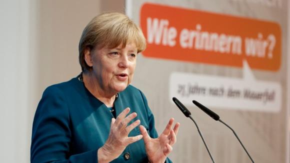 Angela Merkel erinnert sich an die Zeit des Mauerfalls